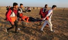 ستون مصابا برصاص الاحتلال في غزة