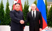 """كيم يتهم واشنطن بـ""""سوء النية"""" وبوتين يطالب بـ""""ضمانات أمنية"""" لكوريا الشمالية"""