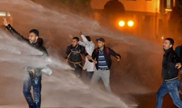 الأمن المغربي يفض اعتصام للمعلمين بالقوة