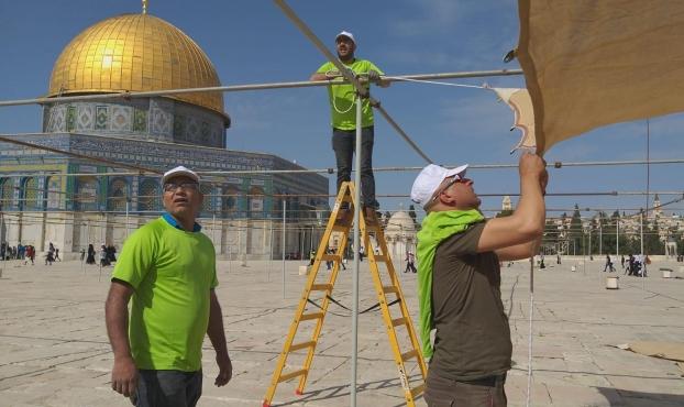 """الحركة الإسلامية: مشاركة واسعة في معسكر """"القدس أولًا"""""""
