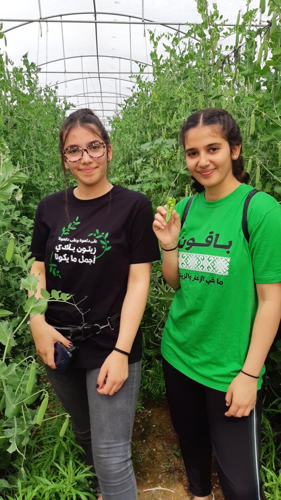 نساء وأطفال من الناصرة وعيلوط والجلمة يتواصلون مع الأرض والطبيعة