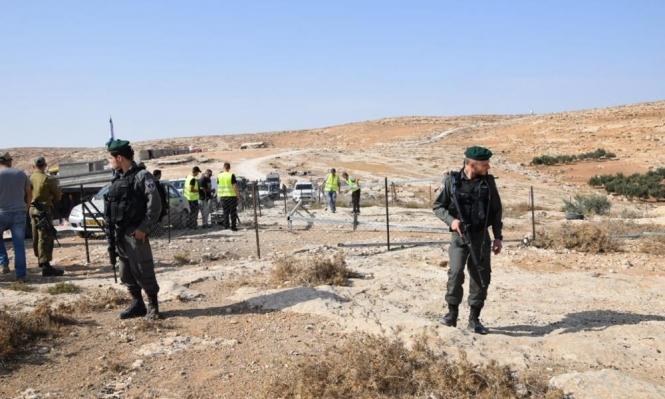 مصادرة مئات الدونمات لشق شارع استيطاني شمال الخليل