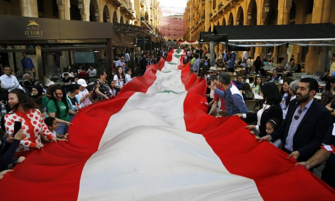 """لبنان يدخل """"غينيس"""" مستذكرا حربه الأهلية"""