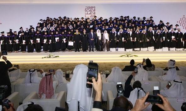 تخريج الفوج الثالث من طلبة معهد الدوحة للدراسات العليا