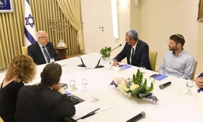 الاتفاق الائتلافي سيشمل ضم أجزاء من الضفة الغربية
