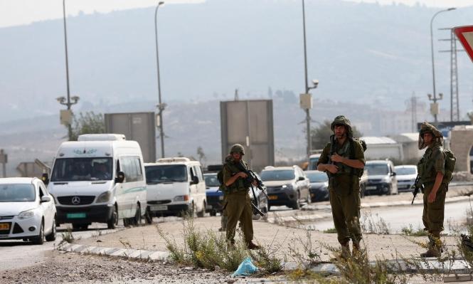 استنفار للاحتلال على حاجز حوارة بزعم محاولة تنفيذ عملية طعن