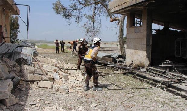 مقتل 10 مدنيين بقصف للنظام وحلفائه شمالي سورية