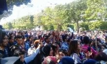 تونس: الأساتذة والباحثون يتظاهرون لرفع الأجور