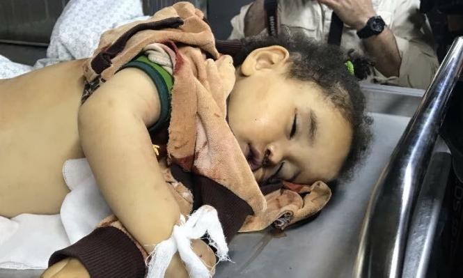 غزة: استشهاد رضيعة ووالدتها الحامل