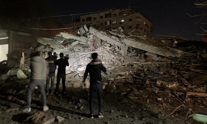 """الاحتلال يستهدف مبنى وكالة """"الأناضول"""" في قطاع غزة"""