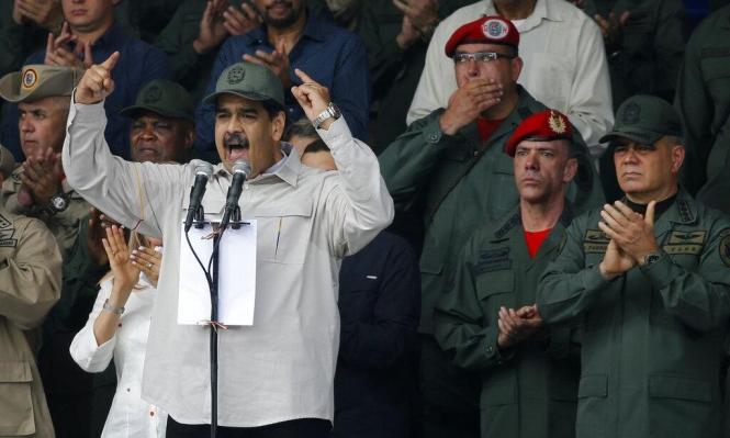 مادورو يدعو الجيش الفنزويلي للاستعداد لهجوم أميركي