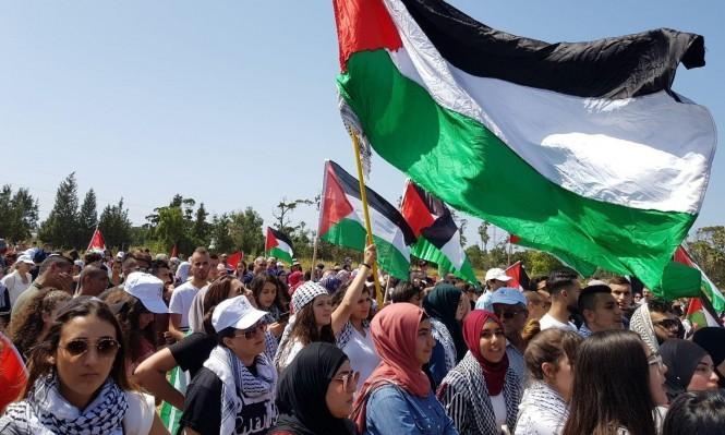 من مسيرة العودة إلى عتليت العام الماضي (عرب ٤٨)