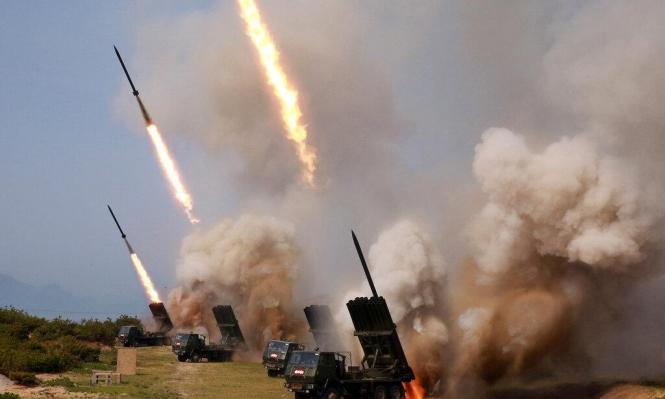 كوريا الشمالية: نجري مناورات لفحص قدرات ودقة قاذفات الصواريخ