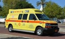 دبورية: إصابة خطيرة بحادث طرق