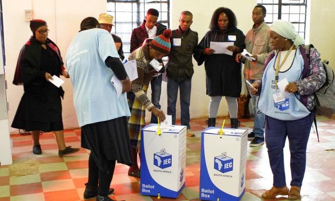 انتخابات تشريعية ومحلية في جنوب أفريقيا