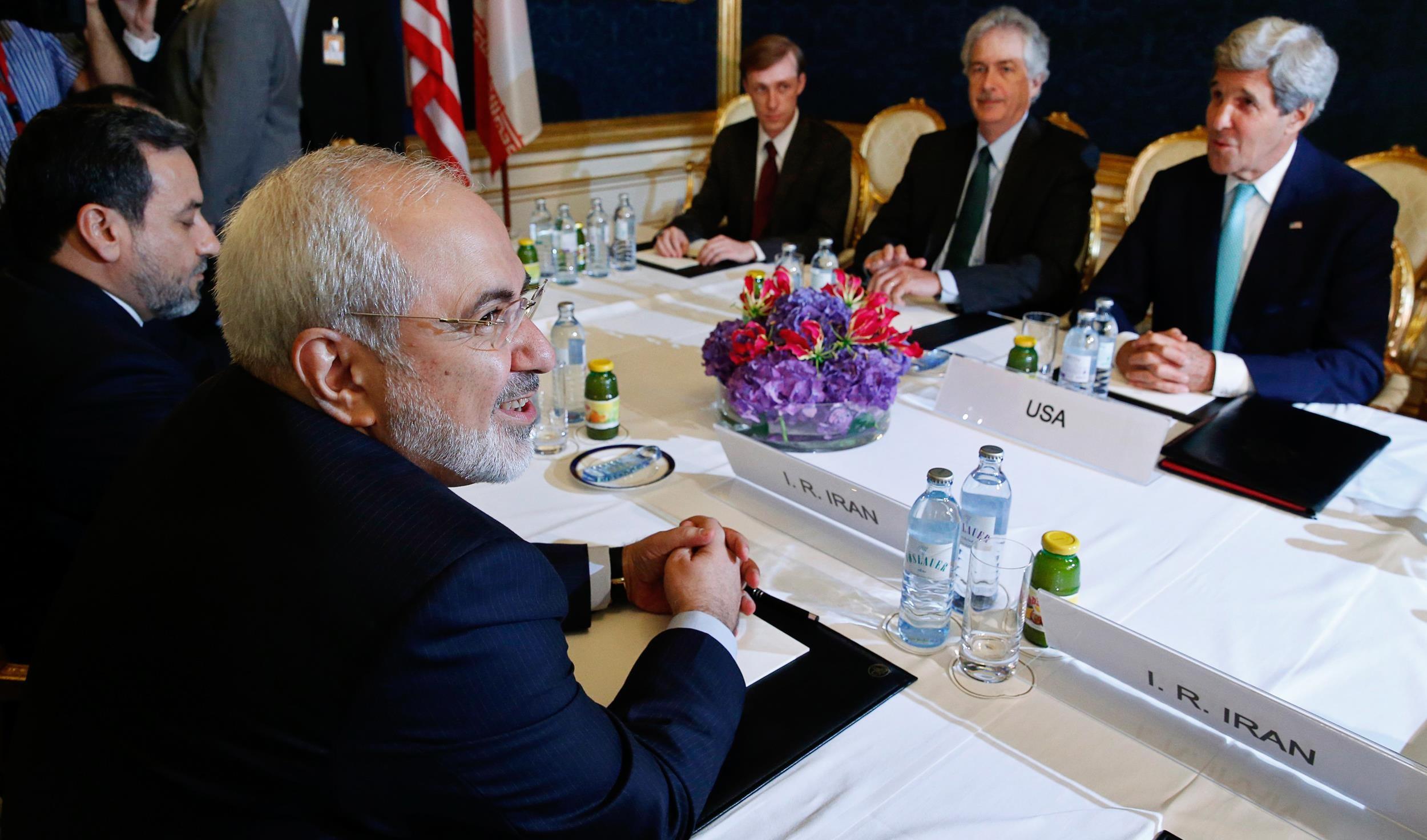 خلال مفاوضات الاتفاق النووي (أ ب)