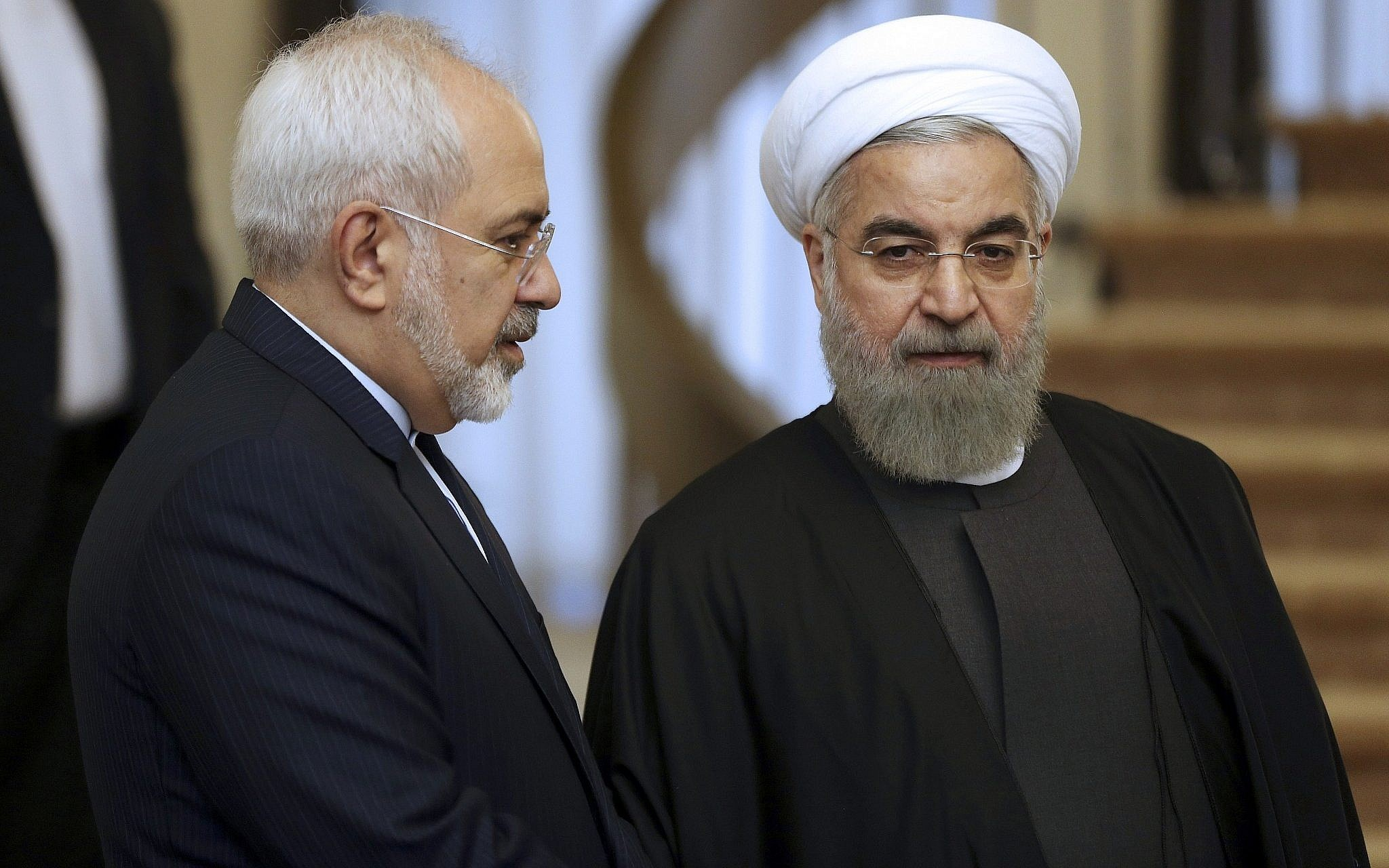 بولتون دعا في العام 2015 إلى قصف إيران (أ ب)
