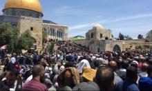 المسجد الأقصى: 180 ألفًا يؤدّون صلاة الجمعة الأولى في رمضان