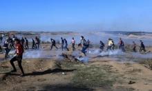 غزّة: شهيد و30 مُصابًا برصاص الاحتلال
