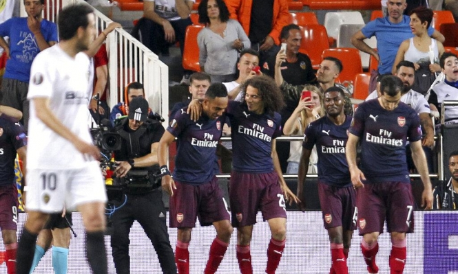 الدوري الأوروبي: آرسنال يتأهل للنهائي على حساب فالنسيا