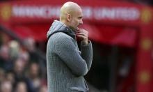 مدرب مانشستر سيتي يشعر بالقلق قبل مباراة الحسم