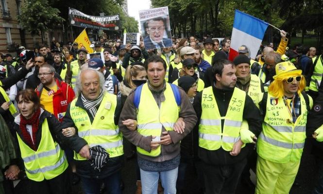 فرنسا: انحسار في عدد متظاهري السترات الصفراء