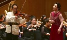 عرضٌ موسيقي مُشترك لفنّانيْن من الكوريتيْن للتّقريب بين بلديهما
