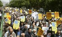 روحاني يدعو للوحدة لمواجهة الحشد العسكري الأميركي بالخليج