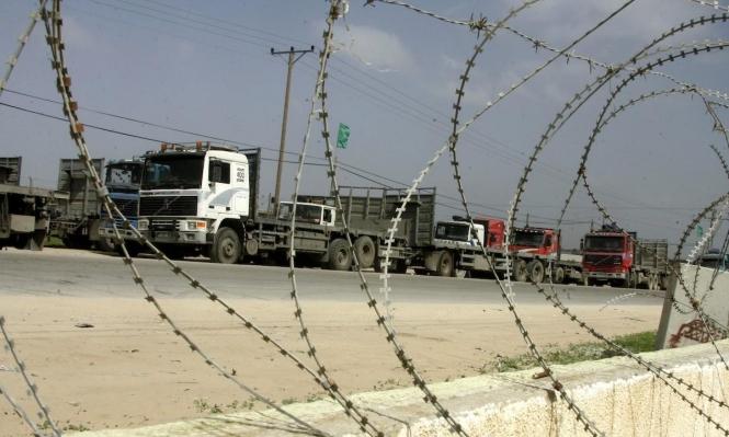 """إعادة فتح معابر غزة تمهيدا لبدء تطبيق تفاهمات """"التهدئة"""""""
