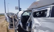 إصابتان في حادث طرق قرب سجن الجلمة