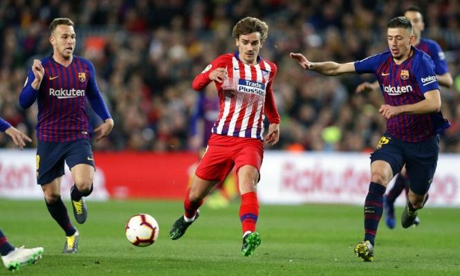 أتلتيكو مدريد يستسلم أمام برشلونة!