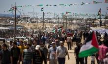 غزة: 65 إصابة في مليونية العودة و9 حرائق في محيط القطاع