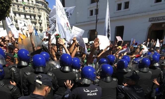 اعتقالات وجرحى بمواجهات مع الشرطة جنوب الجرائر