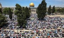 الجمعة الثانية في رمضان: 200 ألف مصلي في رحاب المسجد الأقصى