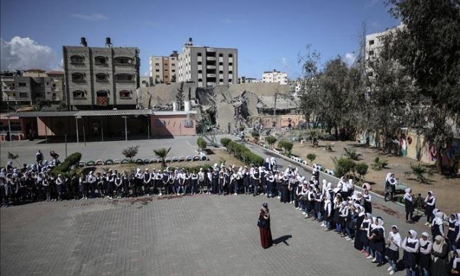 غزّة: حياة مدرسية بين الركام والغبار بعد العدوان الإسرائيلي