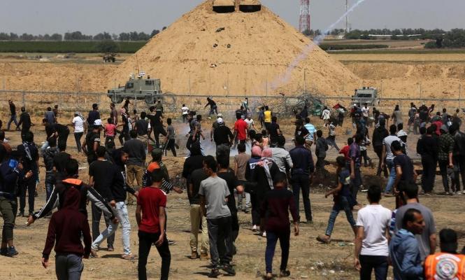إلغاء مسيرة العودة في غزة وإصابات بقمع الاحتلال بالضفة