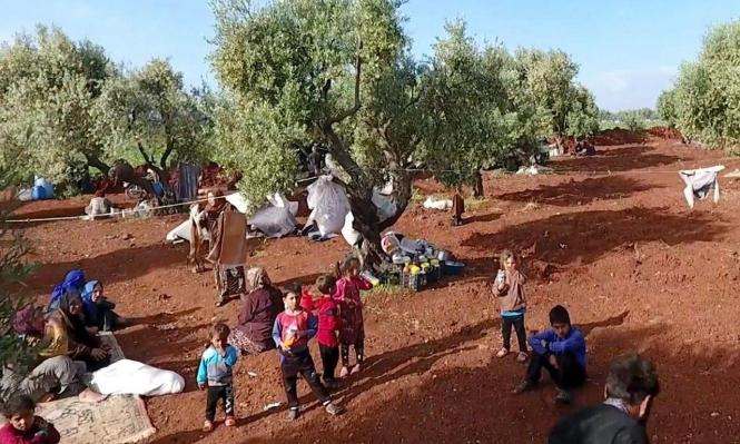 منظمات إغاثية بسورية: نزوح  180 ألف شخص في أسبوعين