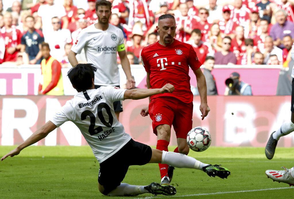بايرن ميونخ بطلا للدوري الألماني