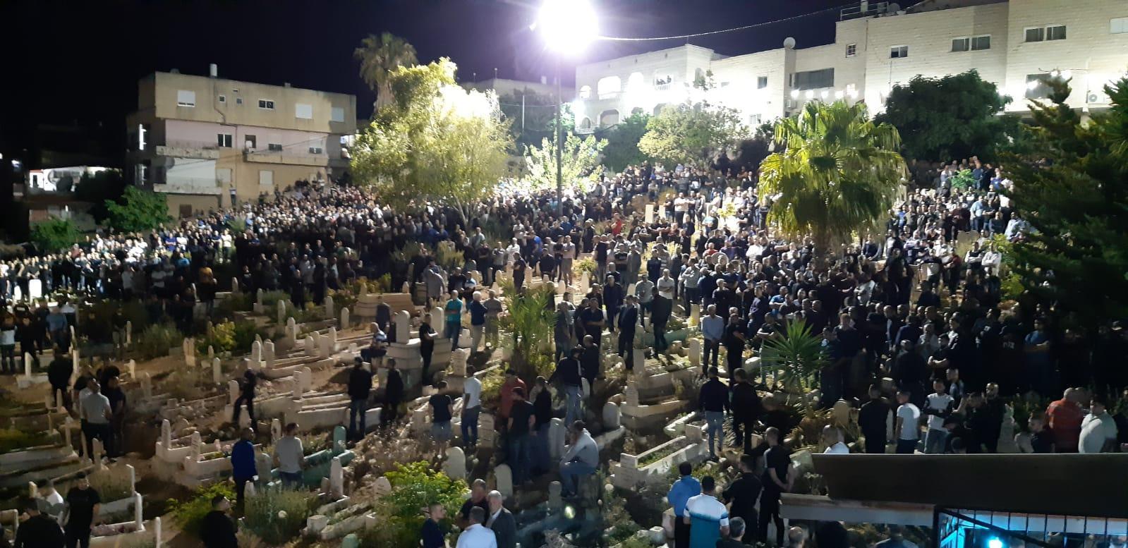طمرة: تشييع جثمان وسام ياسين ضحية جريمة القتل