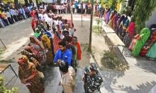 طوابير المواطنين الهنديين في الانتخابات