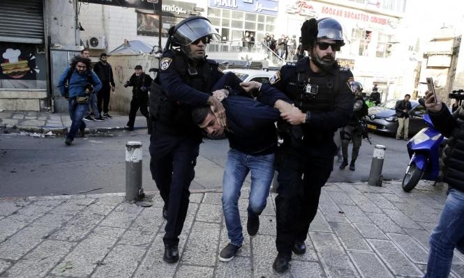 الاحتلال يعتقل ناشطين في القدس بينهم مدير نادي الأسير