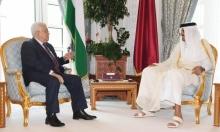 """عباس يبحث بالدوحة مستقبل القضية الفلسطينية بظل """"صفقة القرن"""""""