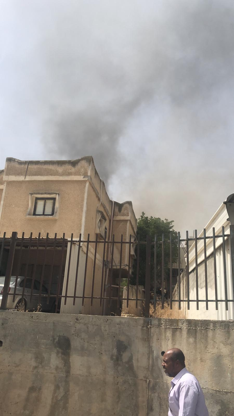 رهط: 4 إصابات في حريق منزل امتد لآخر