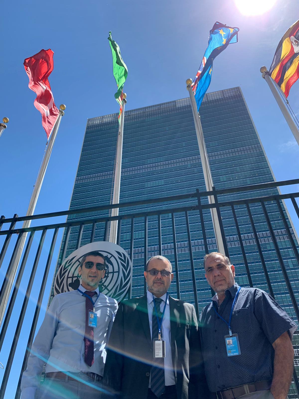 جمعية الإغاثة تحظى بصفة استشارية في هيئة الأمم المتحدة