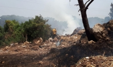 حريقان قرب شفاعمرو وباقة الغربية بفعل الحر الشديد