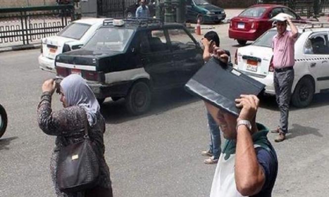 مصر: قتلى وحرائق بسبب موجة الحر الشديد