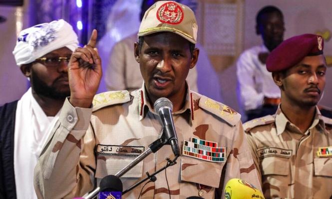 قائد قوات الدعم السريع السودانية في زيارة للسعودية