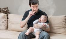 تدخين الرضع السلبي يدفعهم إلى المخدرات