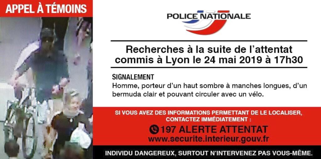 صورة عمّمتها الشرطة الفرنسيّة للمشتبه أنه المنفذ (أ ب)