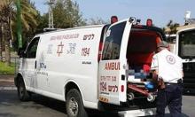 النقب: إصابة شاب سقط من علو